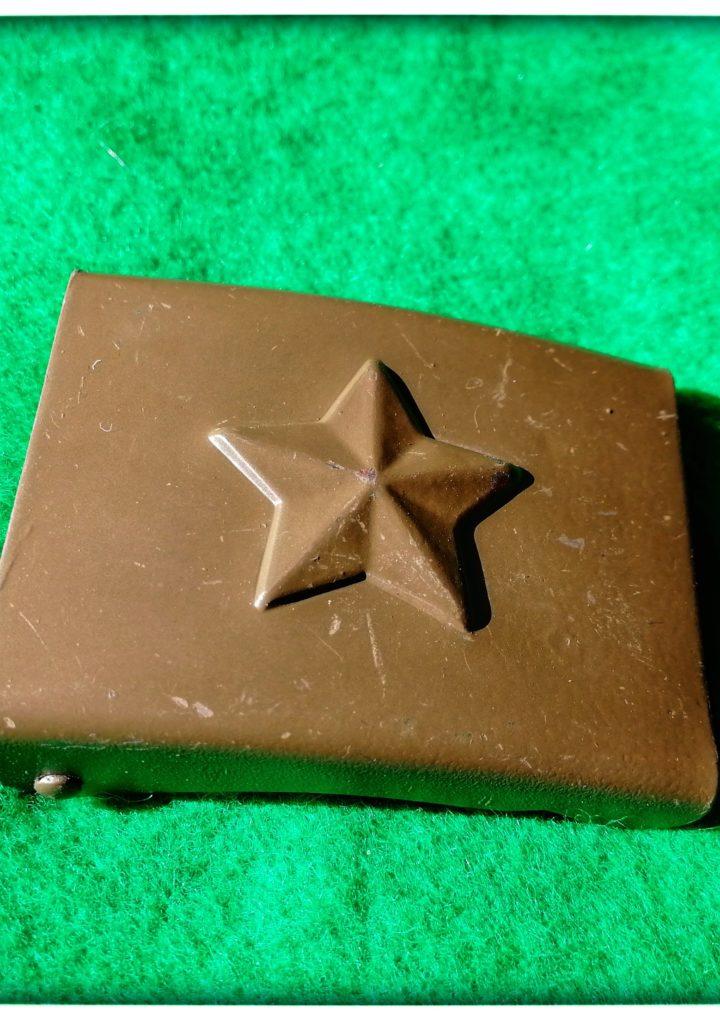 Přezka opasková – hvězda